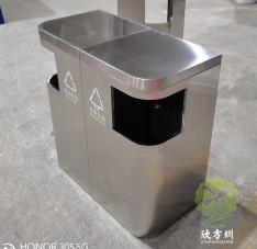 室内外环保组合式不锈钢分类垃圾桶