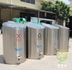 户外脚踏式地埋式不锈钢分类垃圾桶