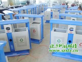 环境工程钢制垃圾桶最经典