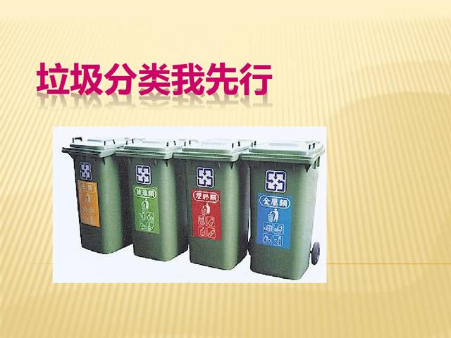 幼儿园垃圾分类ppt课件