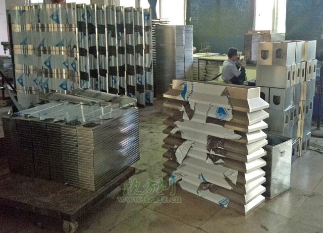不锈钢分类垃圾桶生产组装图